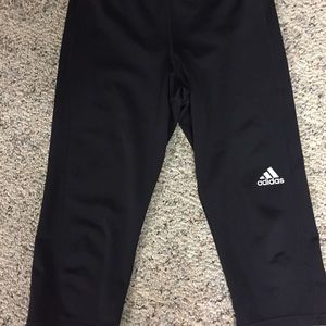 Adidas Black Capri
